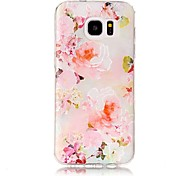 For Case Cover Pattern Back Cover Case Flower Soft TPU for Samsung Galaxy S8 Plus S8 S7 edge S7 S6 edge plus S6 edge S6 S6 Active S5 Mini