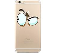 Hülle Für iPhone X iPhone 8 Transparent Muster Rückseitenabdeckung Cartoon Design Weich TPU für iPhone X iPhone 8 Plus iPhone 8 iPhone 7