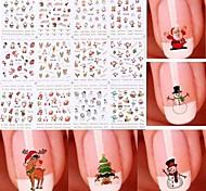 cheap -Nail Art Sticker  Water Transfer Decals Makeup Cosmetic Nail Art Design