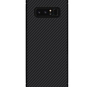 abordables -Funda Para Samsung Galaxy Nota 8 Ultrafina Diseños Cubierta Trasera Líneas / Olas Dura Fibra de Carbono para Note 8