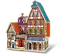 3D Puzzles Toys Architecture Houses Kids 1 Pieces