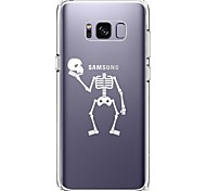 Case For Samsung Galaxy S8 Plus S8 Ultra-thin Transparent Pattern Back Cover Skull Soft TPU for S8 S8 Plus S7 edge S7 S6 edge plus S6