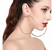 Women's Drop Earrings Hoop Earrings Sexy Oversized Alloy Circle Jewelry For Party Street
