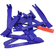 cheap -ZIQIAO 12pcs Auto Radio Panel Interior Door Clip Panel Trim Dashboard Removal Tool Set DIY Car Repair Tool Kit