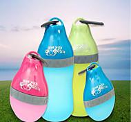 Bols & Bouteilles d'eau Animaux de Compagnie Bols & alimentation Portable Violet Vert Bleu