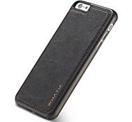 Недорогие -Кейс для Назначение Apple iPhone X iPhone 8 iPhone 8 Plus Магнитный Кейс на заднюю панель Сплошной цвет Твердый ПК для iPhone X iPhone 8