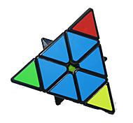 Rubik's Cube BELL Cubo Macio de Velocidade Pyraminx Cubos Mágicos Adesivo Liso Plásticos Triângulo Aniversário Dia da Criança Dom