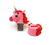 64gb usb 2.0 cartoon unicorn horse usb flash drive disco fofo memory stick pen drive presente pen drive
