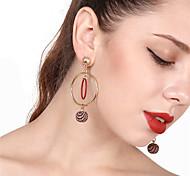 cheap -Women's Drop Earrings Front Back Earrings Sweet Elegant Alloy Round Jewelry For Party Daily