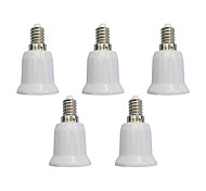 cheap -5 pcs E14 to E27 E27 Light Socket Simple