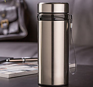 cheap -Sports & Outdoor Office / Career Drinkware, 700 Stainless Steel Water Water Bottle