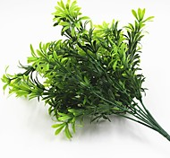 Недорогие -33см 3 шт. 35 выезд / отделение большой куча зеленая трава домашнее украшение искусственная трава