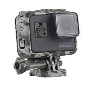 Недорогие -Бампер Стандартная рамка На открытом воздухе Противоударная Ударопрочный Защита от удара Для Экшн камера Gopro 6 Gopro 5 Отдых и Туризм