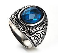 Недорогие -Муж. Массивные кольца На каждый день Хип-хоп Cool Мода Массивные украшения Нержавеющая сталь Бижутерия Повседневные Офис