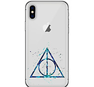 cheap -For iPhone X iPhone 8 Case Cover Ultra-thin Pattern Back Cover Case Geometric Pattern Soft TPU for Apple iPhone X iPhone 8 Plus iPhone 8