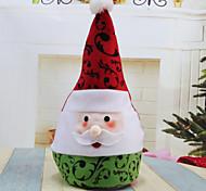 abordables -1pc Santa Adornos Vacaciones, Decoraciones de vacaciones Adornos navideños