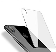 cheap -Screen Protector Apple for iPhone X Tempered Glass 1 pc Back Protector Anti-Fingerprint Scratch Proof Ultra Thin 2.5D Curved edge 9H