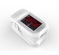 Accurate FS10B LED Fingertip Pulse Oximeter Oximetry Blood Oxygen Saturation Monitor White Color