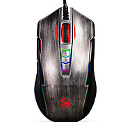 A4TECH P93 Gaming Game Mouse USB RGB 8 Keys 5000DPI with 180cm Cable