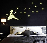 cheap -People Wall Stickers Plane Wall Stickers Decorative Wall Stickers, Vinyl Home Decoration Wall Decal Wall Fridge