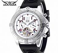 Men's Casual Watch Fashion Watch Dress Watch Wrist watch Automatic self-winding Calendar Rubber Band Casual Cool