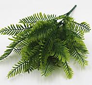 Недорогие -35см 4 шт 35 оставить / филиал персианской зеленой травой домашнее украшение искусственные цветы