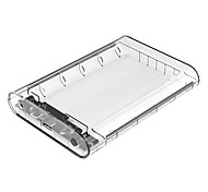 cheap -ORICO 3139U3 3.5 inch Transparent HDD Enclosure Case USB 3.0 5Gbps SATA3.0 Support UASP 8TB Drives for Notebook Desktop PC