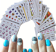 40 Nail Art Sticker  Decals Water Transfer Sticker Water Transfer Decals Makeup Cosmetic Nail Art Design