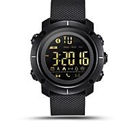 Недорогие -lemfo lf19 bluetooth smart watch водонепроницаемые мужчины женщины носимые устройства smartwatch спортивный pedometer будильник