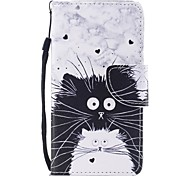 Case For Samsung Galaxy A5(2017) A3(2017) Card Holder Wallet with Stand Flip Pattern Full Body Cat Hard PU Leather for A3(2017) A5(2017)