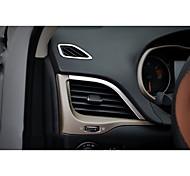 Automotivo Coberturas de ventilação do condicionador de ar do carro Gadgets de Interior Personalizáveis para Carros Para Jeep Cherokee