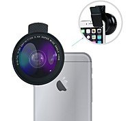 cheap -Wide Angle Lens Kit Lingwei Universal 0.6X Wide Angle Lens / 12X Macro Lens With Clips for iPhone