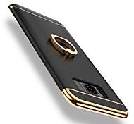 Недорогие -Кейс для Назначение SSamsung Galaxy S8 Plus S8 Защита от удара Покрытие Кольца-держатели Поворот на 360° Кейс на заднюю панель Сплошной