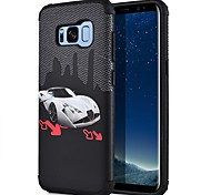 Недорогие -Кейс для Назначение SSamsung Galaxy S8 Plus S8 С узором Кейс на заднюю панель Вид на город Твердый ПК для S8 Plus S8 S7 edge S7