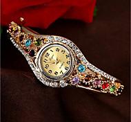 cheap -Women's Kid's Fashion Watch Bracelet Watch Simulated Diamond Watch Chinese Quartz Chronograph Water Resistant / Water Proof Imitation