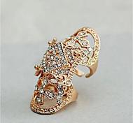 Недорогие -Муж. Жен. манжета кольцо Стразы Мода Массивные украшения Искусственный бриллиант Сплав нерегулярный Бижутерия Повседневные