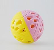 economico -Palline Ball Bell Plastica Per Giocattolo per gatti