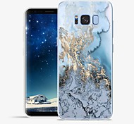 cheap -Case For Samsung Galaxy S8 Plus S8 Pattern Back Cover Lines / Waves Marble Soft TPU for S8 Plus S8 S7 edge S7 S6 edge plus S6 edge S6