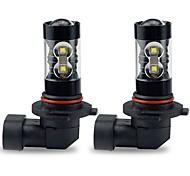 Недорогие -2 Лампы 50W W Высокомощный LED lm 10 Налобный фонарь ForToyota Corolla 2016 2015 2014 2013 2012 2011 2010 2009 2008 2007 2006