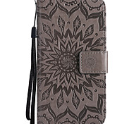 cheap -Case For LG G3 Mini LG G3 LG K8 LG LG K5 LG K4 LG Nexus 5X LG K10 LG K7 LG G5 LG G4 Q6 K8 (2017) Card Holder Wallet with Stand Embossed