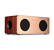 cheap -W1 Bluetooth Speaker Bluetooth 4.0 3.5mm AUX Bookshelf Speaker Brown Dark Red