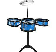 Недорогие -детская музыкальная мини-джаз-барабанная игрушка для детей музыкальный инструмент игрушка перкуссия барабан ребенок рамон цвет