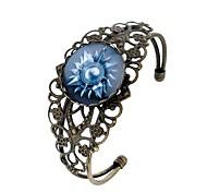 cheap -Women's Cuff Bracelet , Cartoon Fashion Gothic Glass Alloy Circle Jewelry Bar Festival