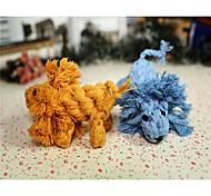 Недорогие -Игрушка для собак Игрушки для животных Жевательные игрушки Веревка Шнур Для домашних животных