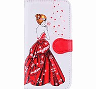 cheap -Case For Apple iPhone X iPhone 8 Plus Card Holder Wallet with Stand Flip Magnetic Pattern Full Body Cases Sexy Lady Hard PU Leather for