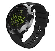 HHY EX18 Smart Watch Bracelet News Push Luminous Dial Professional Stopwatch 50 Meters Super Waterproof