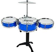cheap -Drum Set Toy Instruments Toys Round Drum kit Jazz Drum Engineering Plastics PU Leather/Polyurethane Leather Pieces Boys Girls' Gift