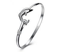 Недорогие -Жен. Браслет цельное кольцо , Животные Позолота Рыбки Бижутерия Повседневные