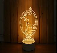Недорогие -1 набор из 3-х настроенных ночных светильников с подсветкой
