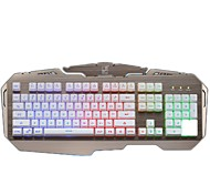 cheap -G600 Wired Multicolor Backlit Clear Switches 104 Mechanical Keyboard Spill-Resistant Backlit